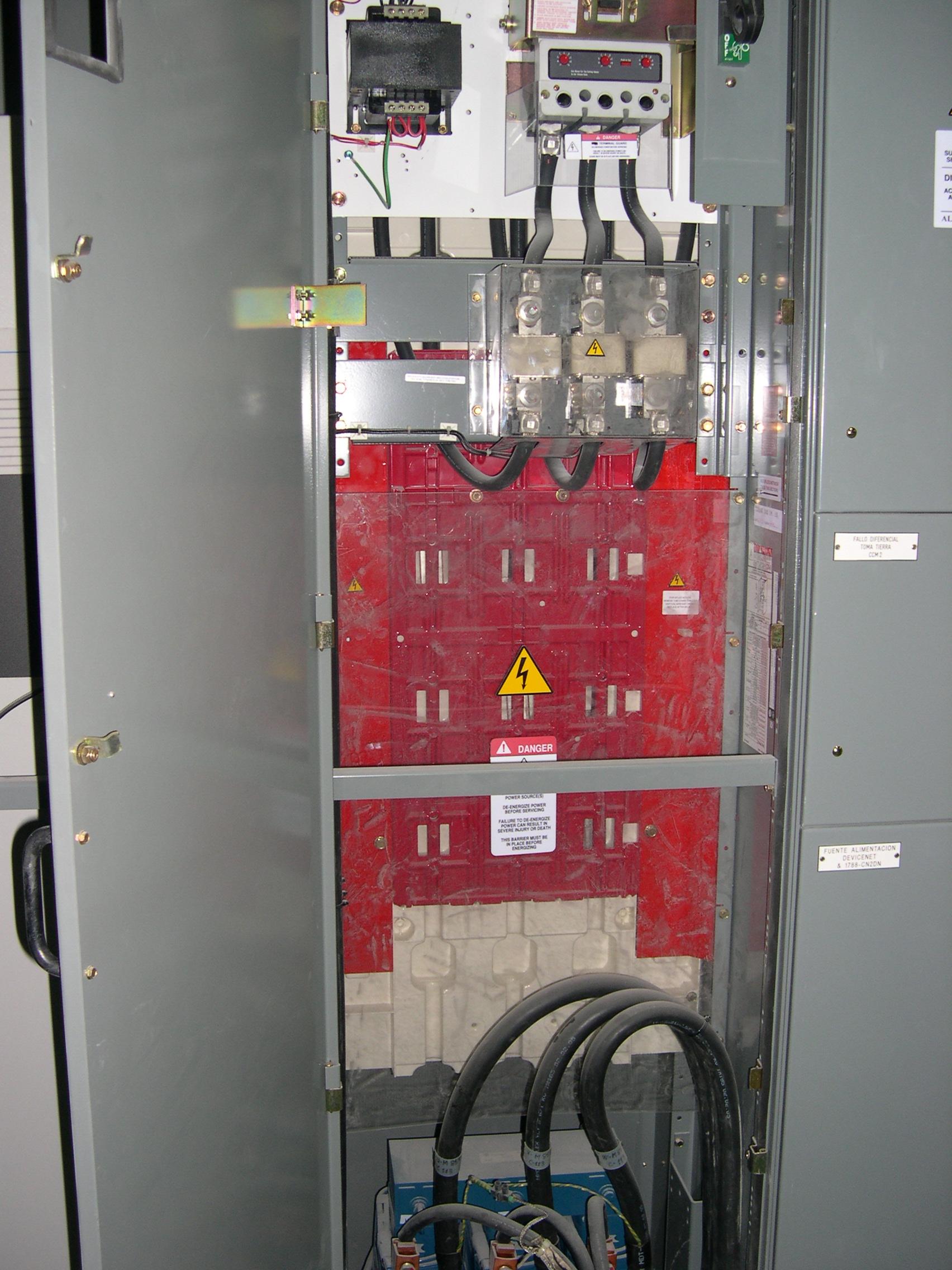 centros de transformación eléctrica